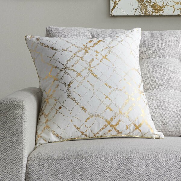 Beshears 100% Cotton Throw Pillow by Mercury Row